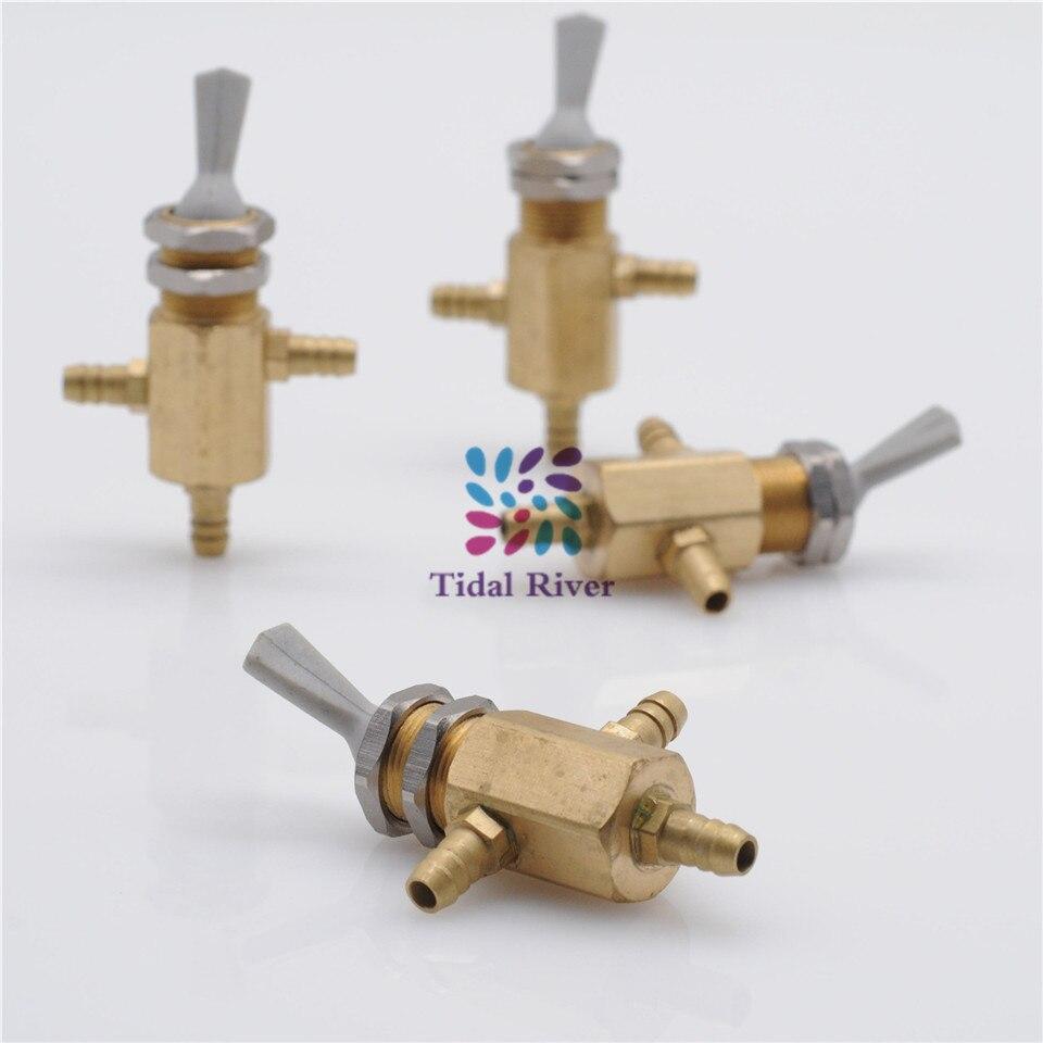 5/Uds Dental ajustador agua silla Válvula de 2 Selector de agua y aire forma Dental Kit de reemplazo