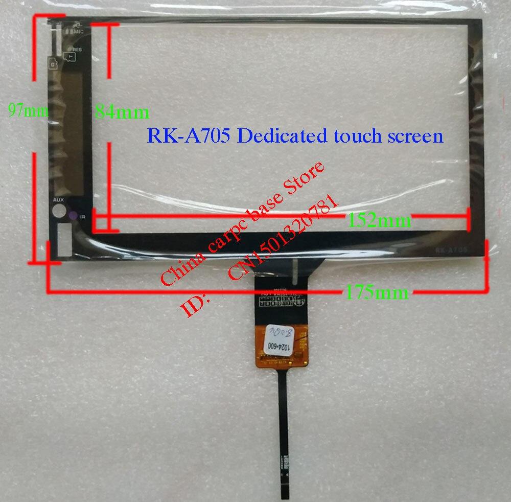 7 pulgadas Pantalla de panel táctil para RK-A705 Navegador de coche especial 175*97MM GT911 HST-10T26 R14354-V20