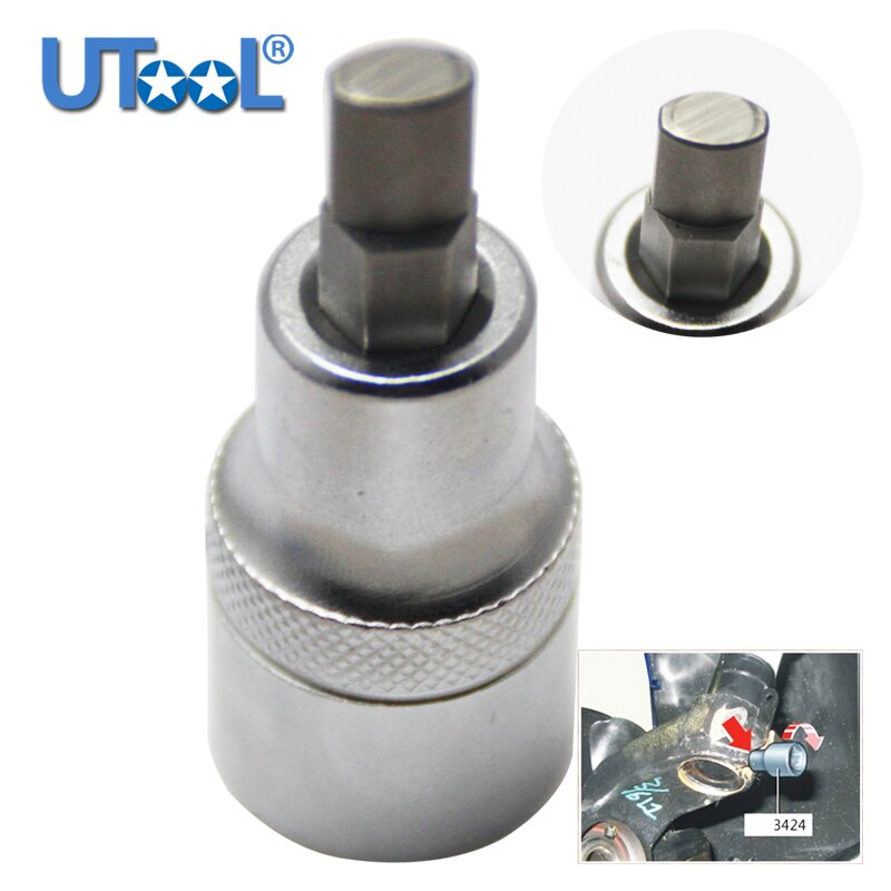 1pc Silver 3424 Suspension Strut Spreader Socket  for Volkswagen For Audi A4 1999-2011 2012 2013 2014 2015 2016