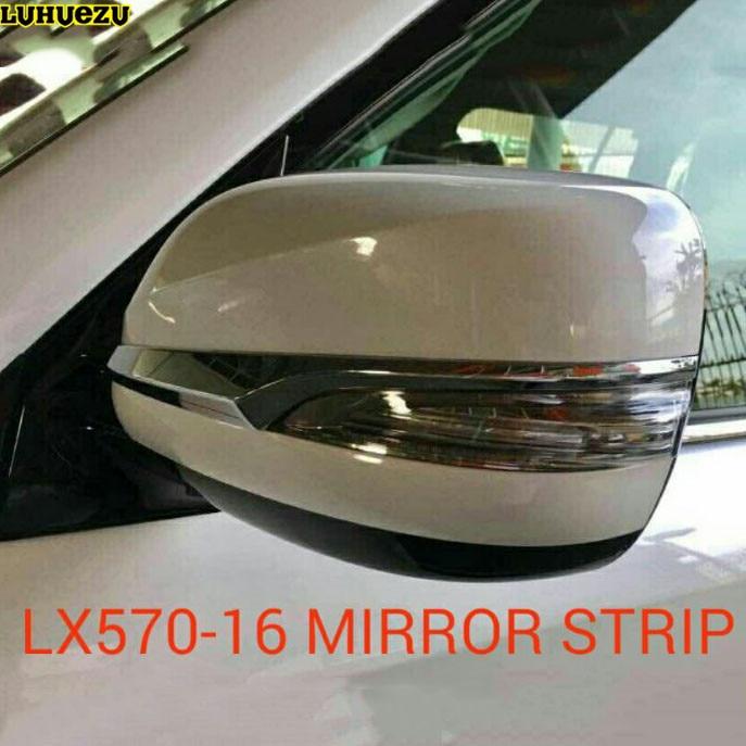 Cubierta de espejo lateral Luhuezu 3D para Lexus LX570 2012-2017 GX400 GX460 2010-2017 Accesorios