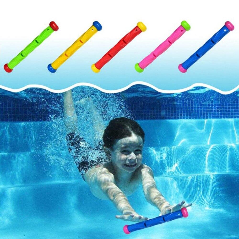 Palillo para inmersión juguete de agua piscina juego de buceo verano ladron niños bajo el agua palillo para inmersión juguete juguetes deportivos interactivos nuevo