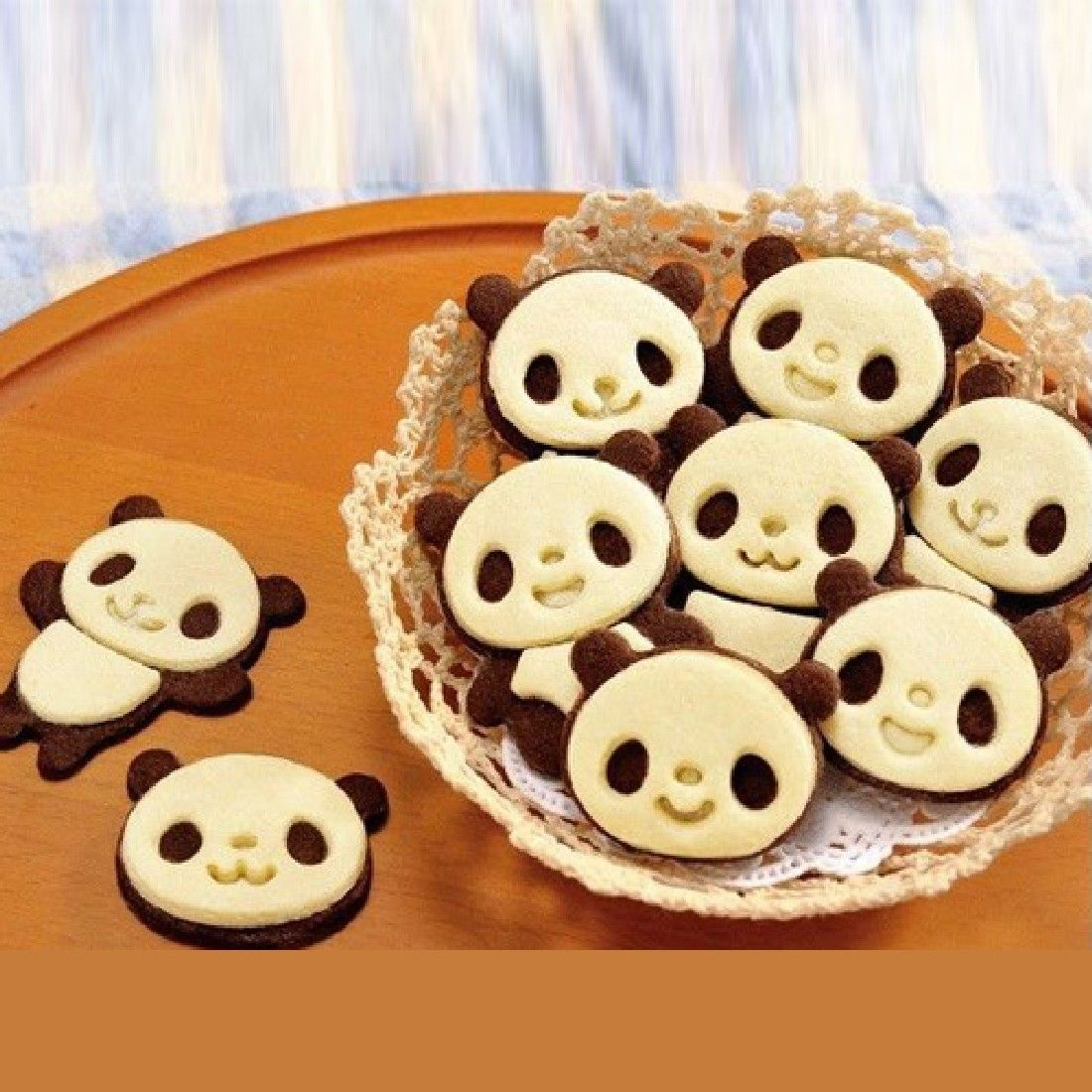 Diy выпечки мультфильм печенье в виде панды резак конфеты украшения плесень
