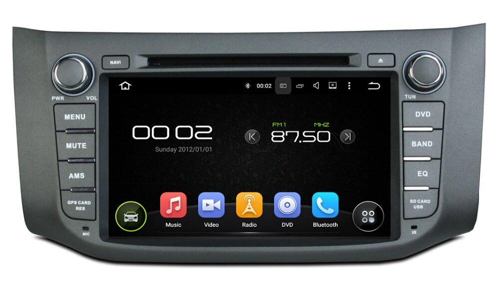 "9 ""reproductor DVD Android para el coche con GPS WIFI Radio de Audio estéreo multimedia para coche NISSAN SYLPHY/2012/Sentra/Pulsar/Bluebird Sylphy"