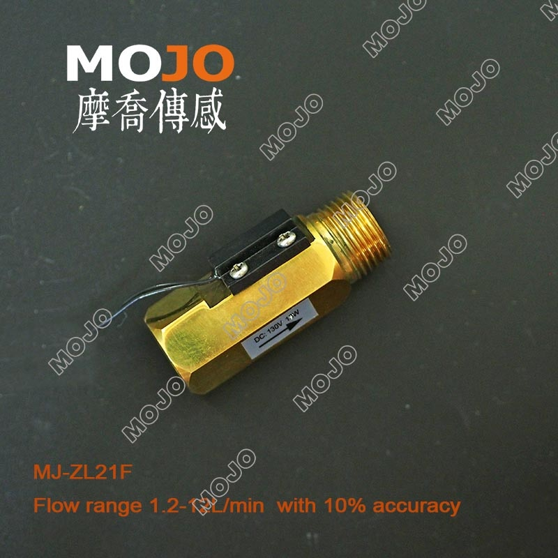 2020 MJ-ZL21F 1/2 '' ( 10 أجزاء/وحدة) عالية الدقة النحاس الجاذبية رخيصة تدفق التبديل