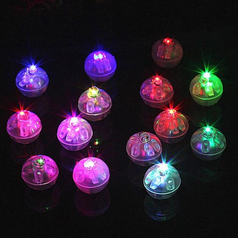 LED Round Balloon Light Paper Lantern Decorative Lights Glow Party   Decoration birthday wedding
