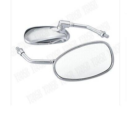 Cromo espejos retrovisores espejos laterales para Suzuki Boulevard C50 Volusia 800 C90 M109R C109 merodeador 800 M50 intruso LC1500