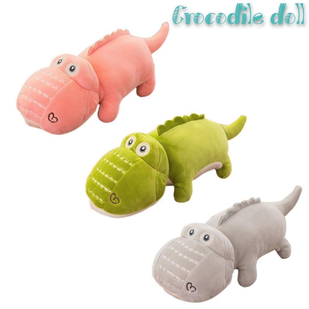 Super macio pelúcia boneca brinquedo adorável pelúcia fofinho pequeno crocodilo brinquedo de pelúcia animal de pelúcia para crianças meninas meninos decoração de casamento 30cm
