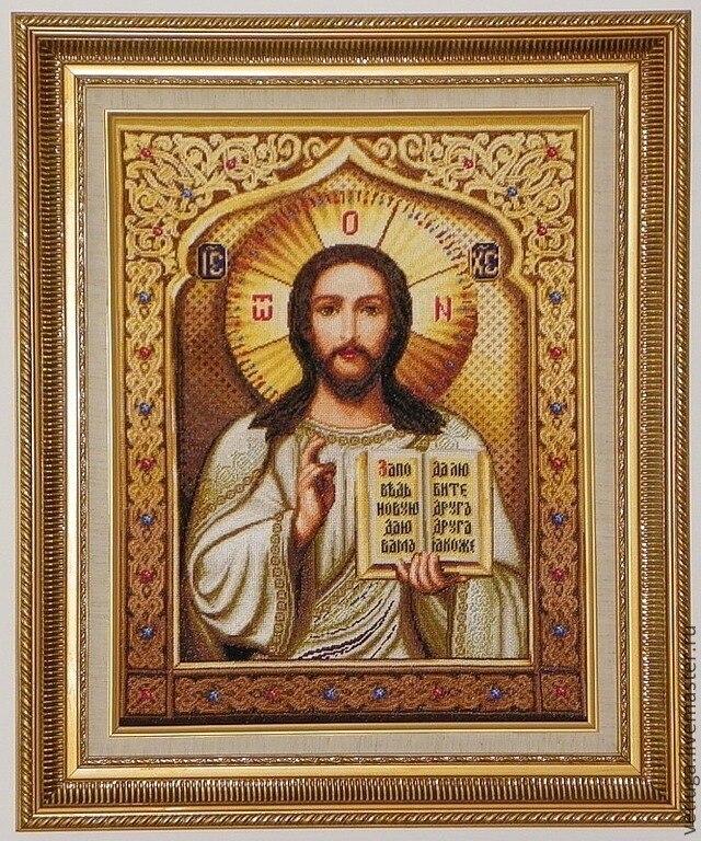 2018 Apressado Real Frete Grátis Diy Pintura Diamante Varejo 40*50 cm 3d Resina Praça Crossstitch Completo Bordado Jesus bíblia