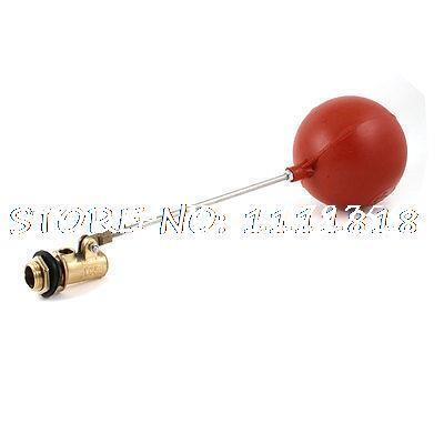 """1/2""""PT Male Thread Sensor Plastic Float Floating Ball Valve 4""""Diameter"""