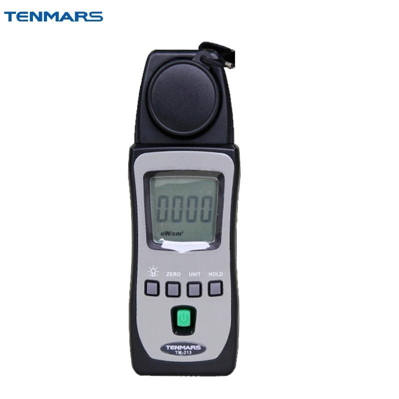 Medidor de nivel de luz ultravioleta UVB UVAB TM-213 tamaño de bolsillo