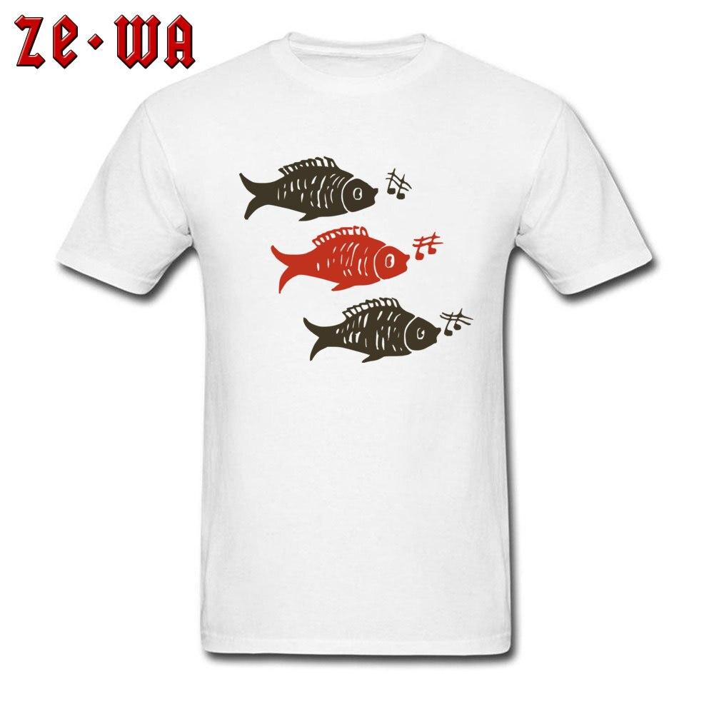 Camiseta de grupo de peces, camiseta Casual blanca para hombres, camisetas de amantes de la música Fisher, camisetas de tatuajes tribales personalizadas, ropa de Fitness de algodón 100%, divertida