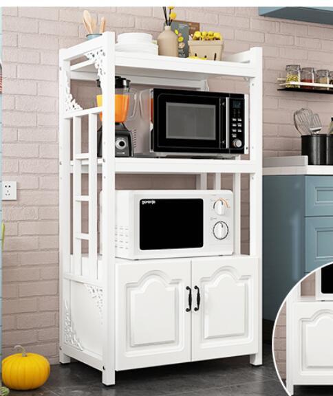 Étagères de cuisine multifonctions   Étagères de cuisine, espace de sol, pour la maison, four à micro-ondes, meuble de rangement du four