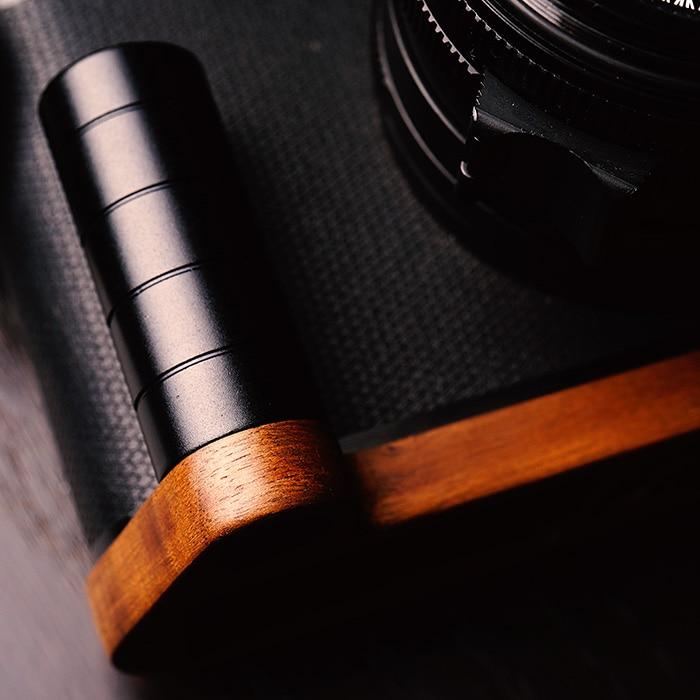 Original Walnut Wooden Quick Release L Plate / L Bracket Hand Grip Holder Fit For leica Q Series enlarge