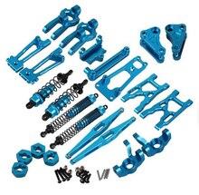Wltoys k949 10428-a 10428-b 10428-c rc acessórios da elevação da liga de alumínio das peças sobresselentes do carro