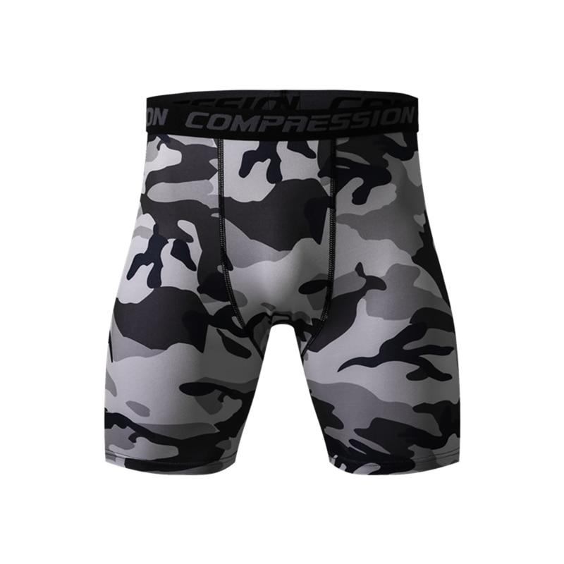 Pantalones cortos de deporte de verano de compresión de secado rápido para Hombre Pantalones cortos ajustados de entrenamiento de fitness XL 3XL