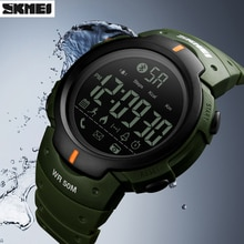 Умные часы SKMEI Bluetooth шагомер калорий Удаленная камера Цифровые Наручные часы модные спортивные умные часы для iPhone Android