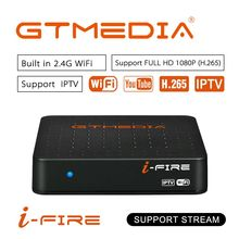 Original Newest IPTV BOX GTmedia IFIRE TV Box 4K HDR H.265 STB BOX Ultra HD WIFI Xtream IPTV Stalker IPTV Youtube Set top Box