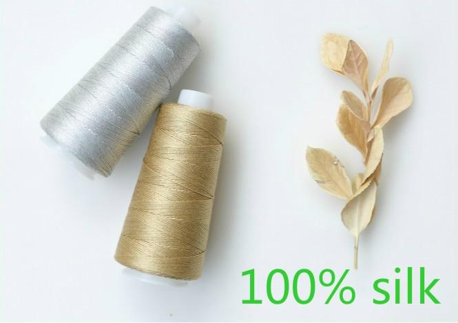 100 g/lote 100% Mora hilo de seda de hilo de tejer a mano de ganchillo bebé hilo de lana hilo de seda tejida línea 300 meter/pcs envío gratis