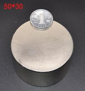 1pcs neodymium magnet n52 50x30 hot round magnet Strong magnets Rare Earth Neodymium Magnet 50x30mm wholesale 50*30 mm IMANES