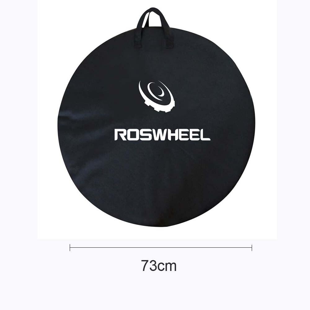 ROSWHEEL 73cm Bicycle Cycling Road MTB Mountain Bike Single Wheel Carrier Bag Carrying Package Bike Accessory