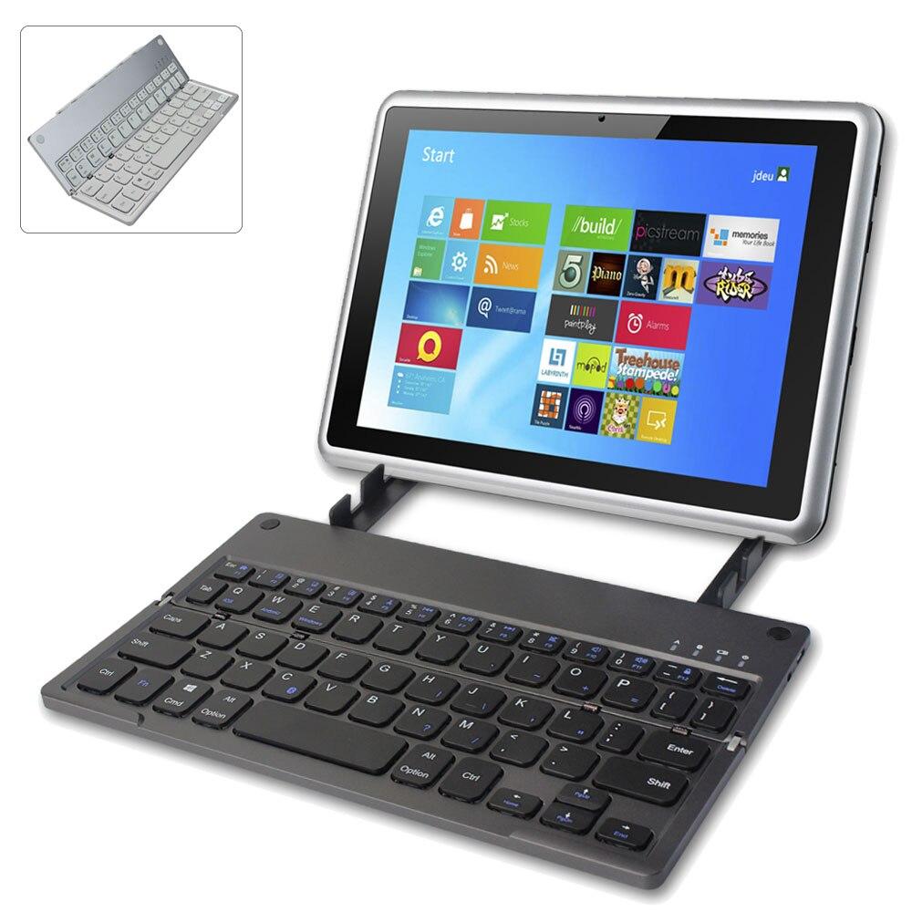 Teclado plegable Bluetooth inalámbrico portátil ultrafino teclado plegable batería de litio recargable para iPad Tablet