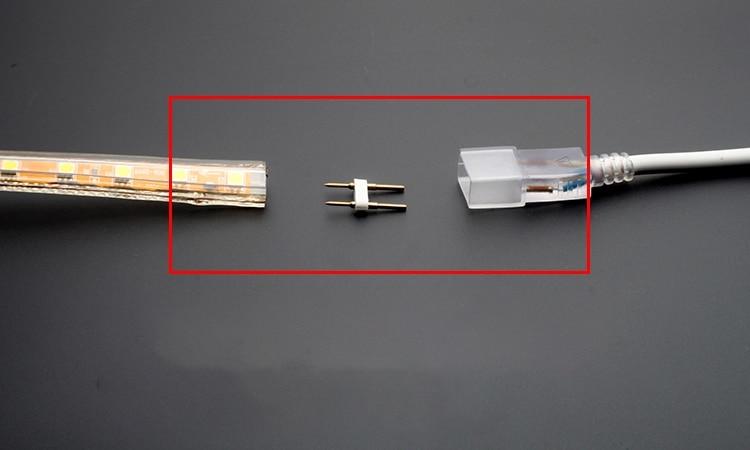 2000 قطعة النحاس LED 5050/3528/3014/2835 ضوء مع اثنين من دبابيس الأسلاك لوحة دليلية بعقب