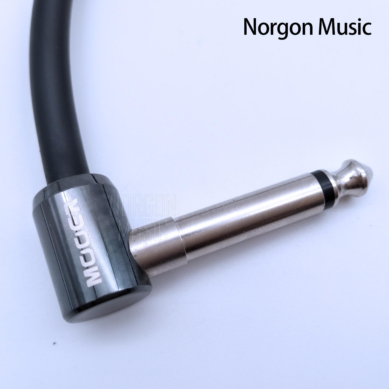 Mooer conector de pedal de guitarra parche de audio efectos de Cable Stompbox accesorios de guitarra Cable de alimentación serie FC