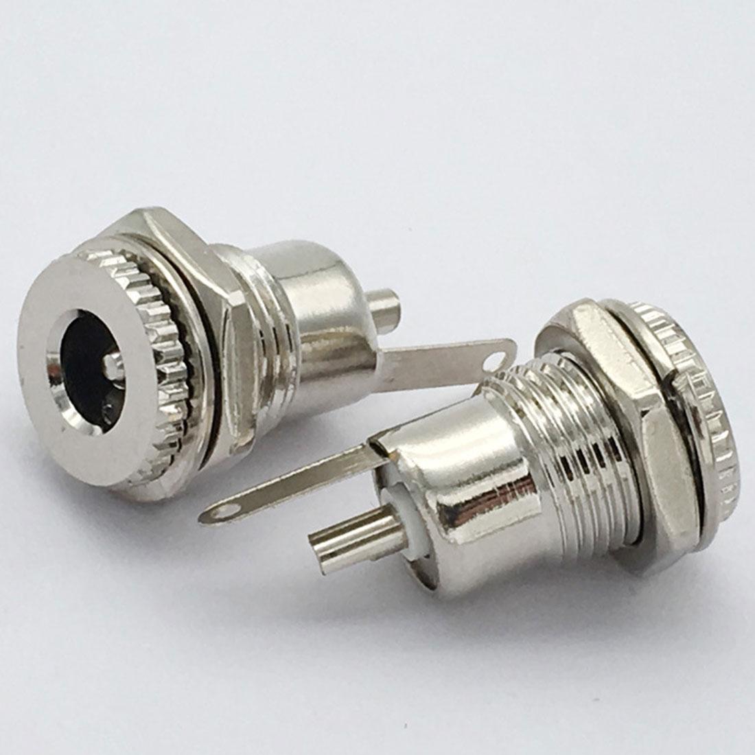 5,5mm x 2,1mm DC099 DC Netzteil Jack Buchse Weiblich Panel Mount Stecker Geeignet für 2,1/5,5mm DC Power Stecker