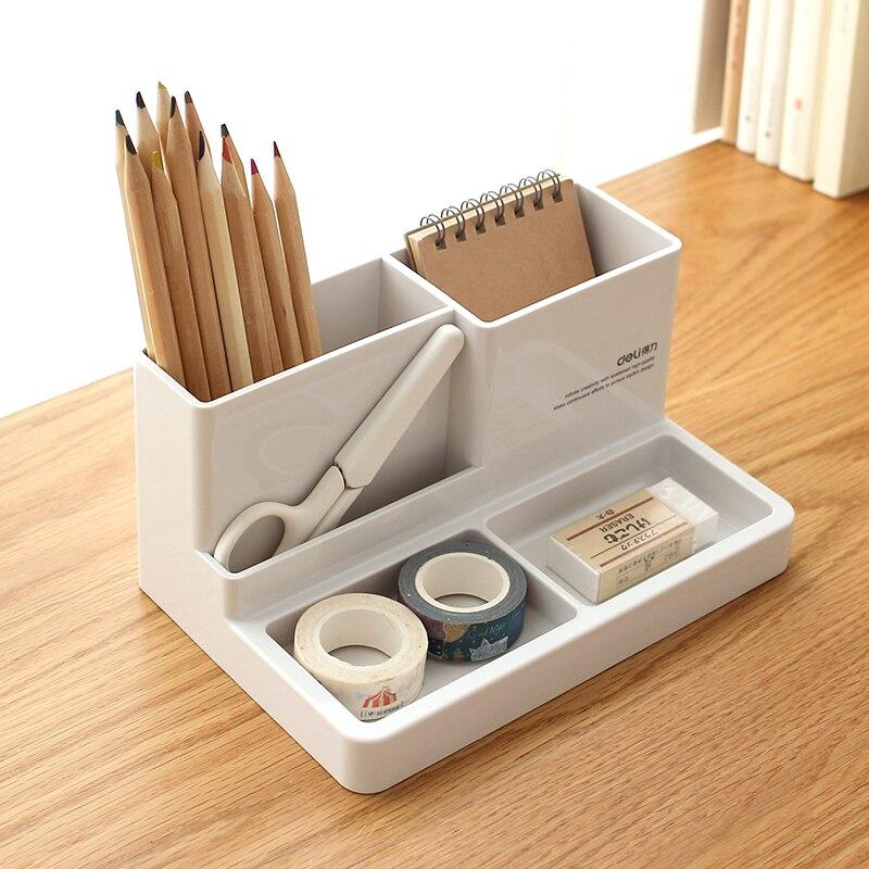 Deli Home Office Multifunktions Stift Halter Stationäre Lagerung Box
