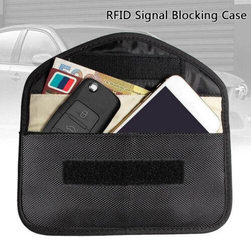 Car Key Signal Blocker Bag Keyless Fob RFID Anti Radiation for Pregnant NIGH Blocking Pouch Case Bag Anti hacking