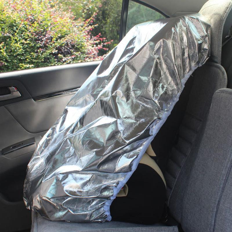 Coche para niños cubierta de asiento de cochecito de bebé cubierta tipo parasol bebé cuna carruaje película de aluminio sombrilla los rayos UV Protector de polvo cubierta