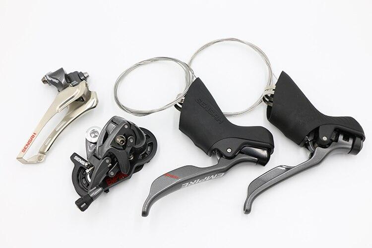 SENSAH imperio 2*11 Speed Road cambios de bicicleta desviador Grupo 11s accesorios para shimano Sram bicicleta de carretera