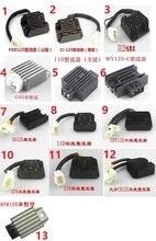 FXD125 JZ125 JY6125 GN125   Livraison gratuite, GS125 WY125 CBT125 CH125, régulateur de Charge de pièces de rechange à 5 fils LF110, 6 fils