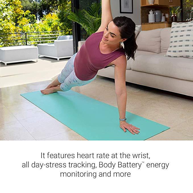 Garmin vivosmart4 sports watch fitness  heart rate monitor swimming running waterproof women digital watch dress watches enlarge