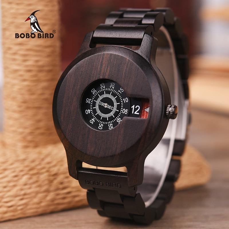 BOBO BIRD-ساعة رجالية ، كوارتز ، ماركة فاخرة ، هدية رائعة ، OEM