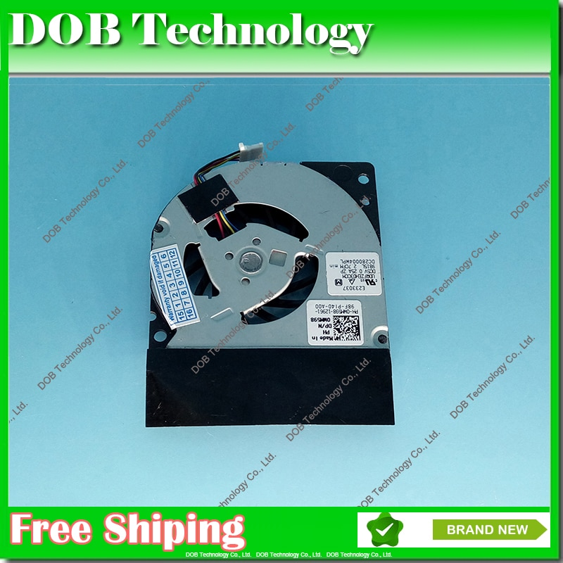 Ventilador de CPU para Dell Latitude E4300 CPU ventilador de refrigeración WM598 GB0555PDV1-A 13. B3442.F.GN ventilador de portátil