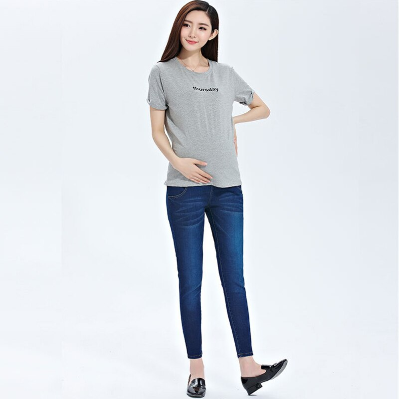 Emotion Moms Maternity Jeans For Pregnant Women Pregnancy Jeans Pants Maternity Clothes For Pregnant Women Trousers enlarge