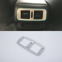 abs inner car accessories rear air vent cover trim for nissan 2018 terra