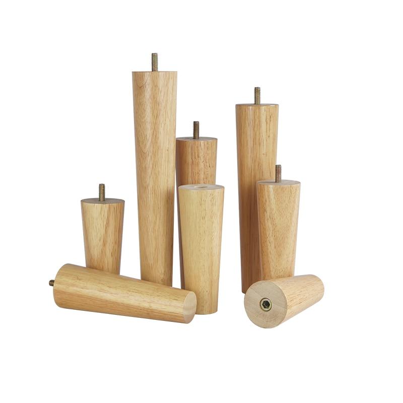 4 шт./лот, подставки для мебели из массива дерева, подставки для ножек телевизора, подставки для ножек, дивана, дубовые деревянные аксессуары ...