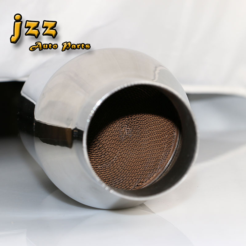 JZZ Universal car catalytic converter replacement parts Greater sound for exhaust system 63mm