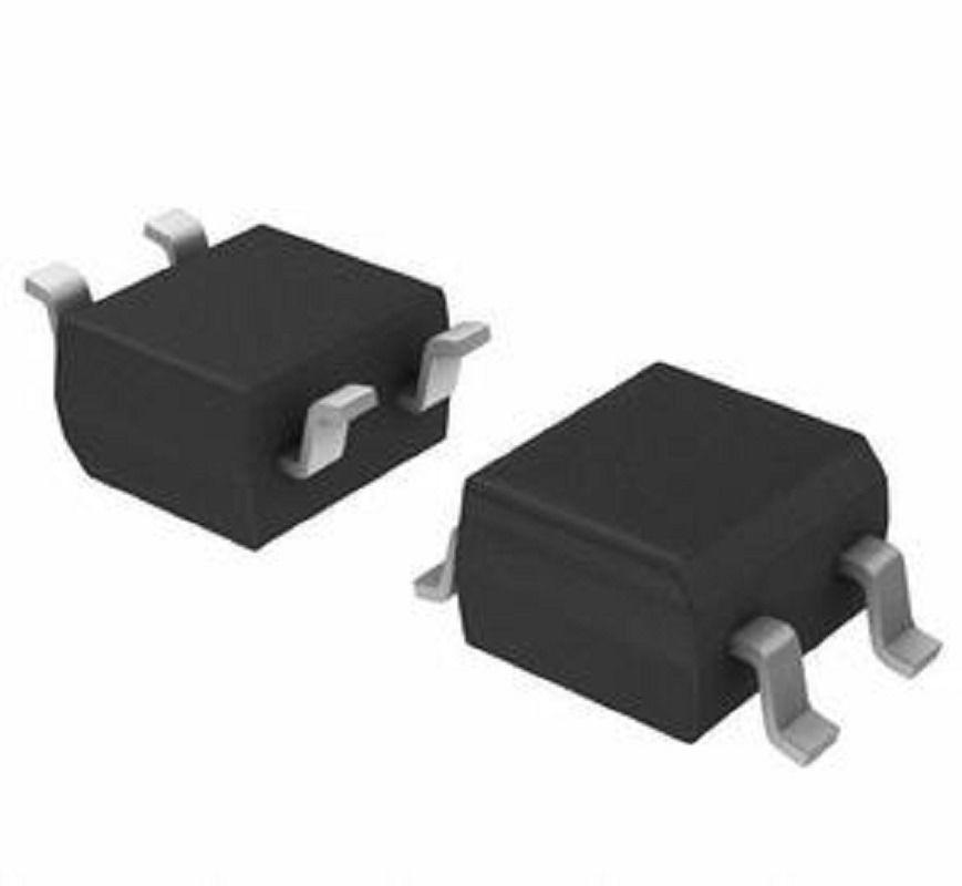 Rectificador de puente miniatura 100 unids/lote diodo SOP-4 MB10F 0,5/0.8A 1000V