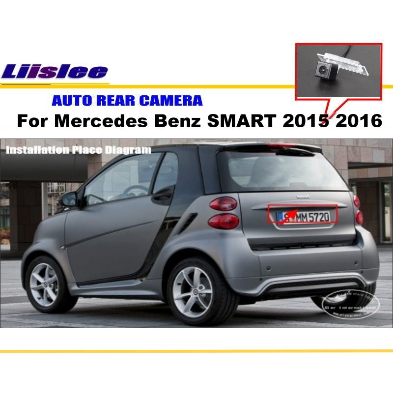 Car Rear View Camera For Mercedes Benz SMART 2015 2016 Reverse Backup Auto Accessories
