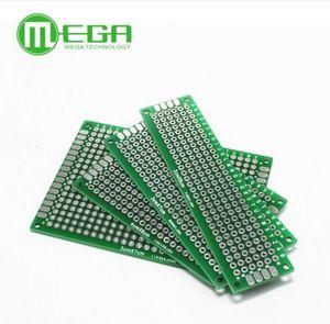 10pcs 5x7 4x6 3x7 2x8cm double Side Copper prototype pcb Universal Board Fiberglass board for Arduino