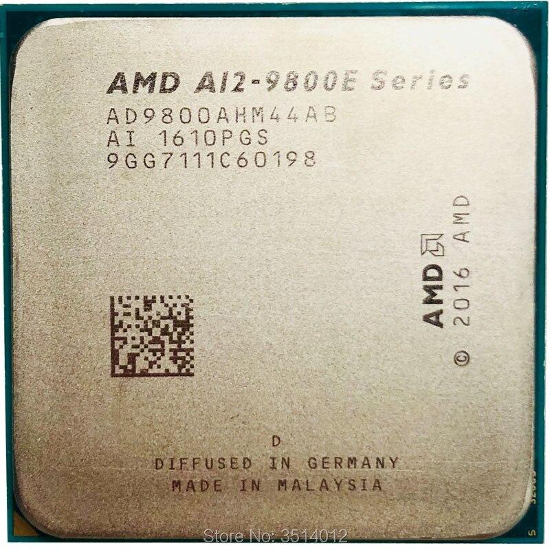 AMD A12-Series A12-9800E A12 9800E A12 9800 E 3,1 ГГц четырехъядерный процессор AD9800AHM44AB Socket AM4 satmak A12 9800