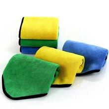 Nieuwe Super Absorberende Wasstraat Microfiber Handdoek Car Cleaning Drogen Doek 40*60 cm 30*40 Rag Detaillering auto Handdoek Car Care Polijsten