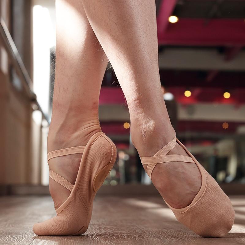 SWIGA Ultra-strength cotton professional ballet training dancing shoes