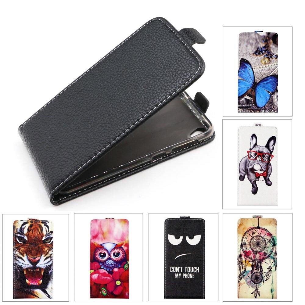 TPU Flip funda de piel para Asus ZenFone Live ZB501KL ZB 501 KL 501KL 5,0 contraportada de moda de dibujos animados pintura de la cubierta del teléfono