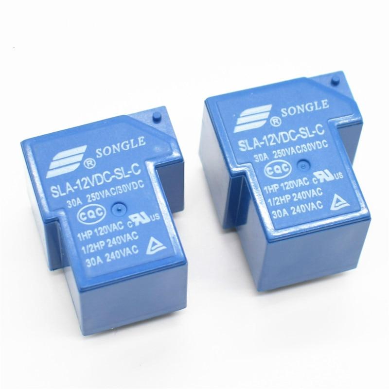 Relé de potencia SLA-12VDC-SL-C 6 pin actual 30A T90 relés songle