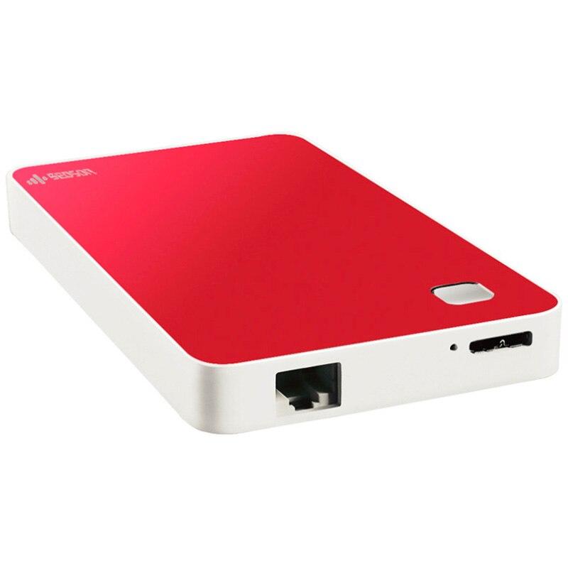 Disco Duro WIFI HDD 2,5 500GB 1TB 2TB disco duro externo inalámbrico USB 3,0 disco externo Dur WIFI externo envío gratis