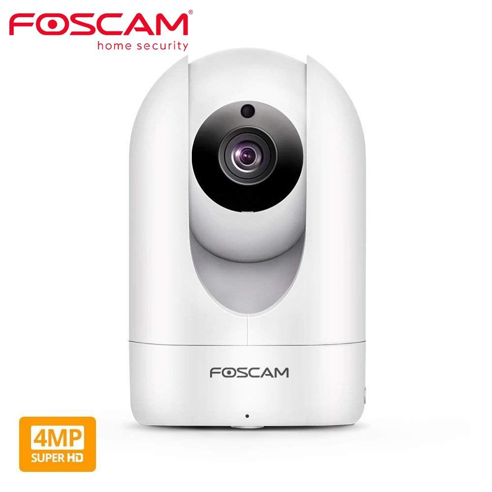 Foscam R4M 4MP Super HD WiFi Kamera 2,4G/5G Wifi Home Security Kamera Pan/Tilt Video überwachung Sicherheit IP Kamera